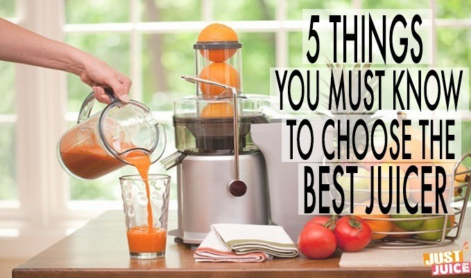 what is the best juicer for you?