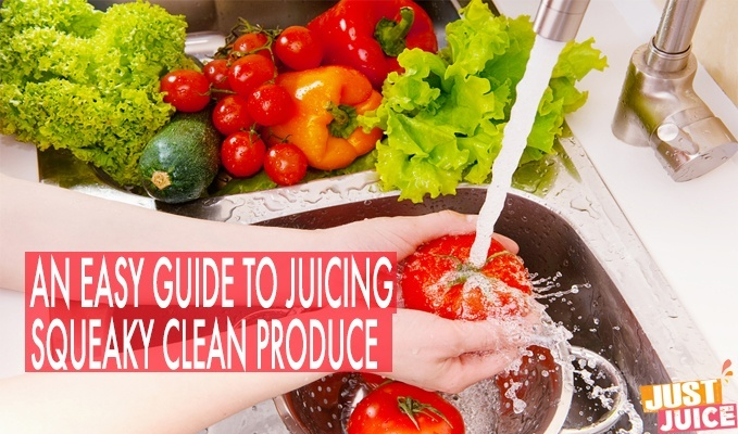 HOW TO WASH FRUITS AND VEGGIES