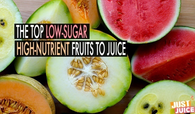 low sugar fruits to juice for weight loss