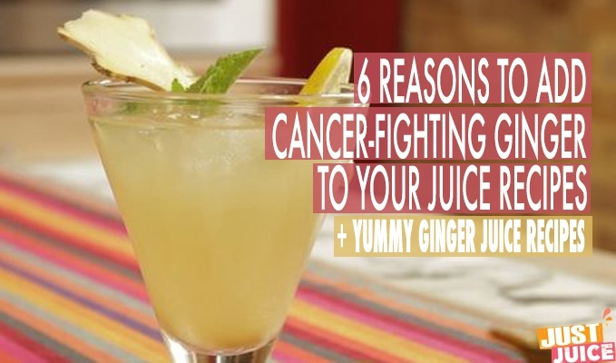 GINGER JUICE RECIPES