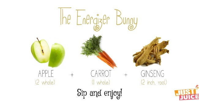 energy juice recipe to invigorate your body