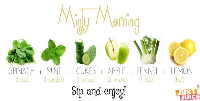 morning juice recipes