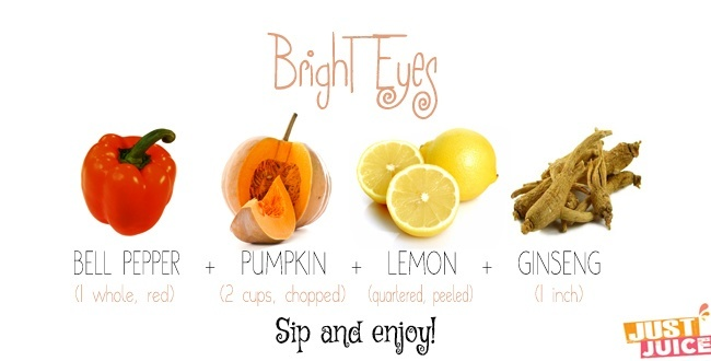 juice recipes for eye health