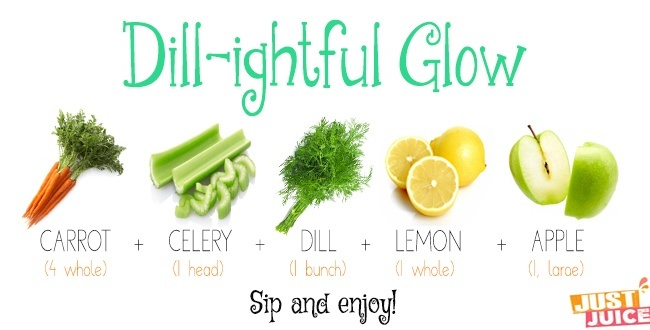 detox juice recipe with dill
