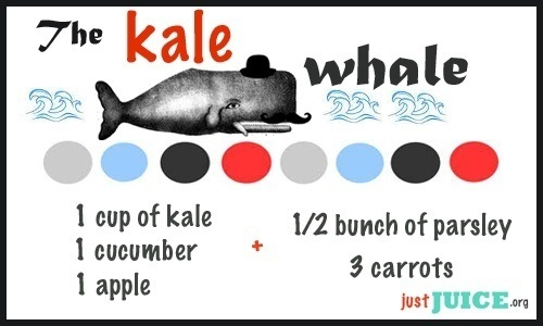 kale juice recipes for energy