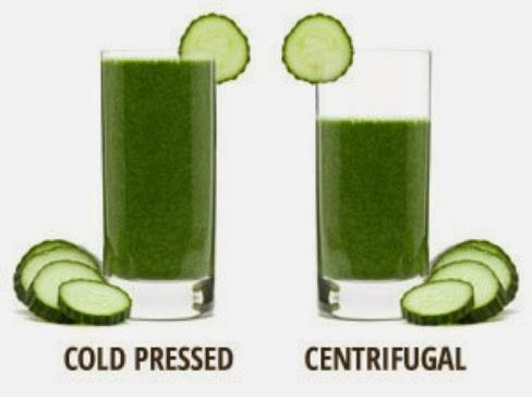 cold pressed vs centrifugal juicer