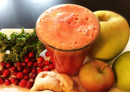 cranberry-Apple-Ginger-Juice