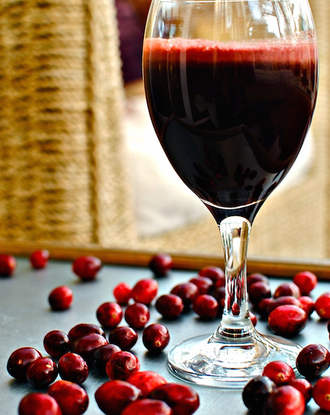 cranberry juice recipes