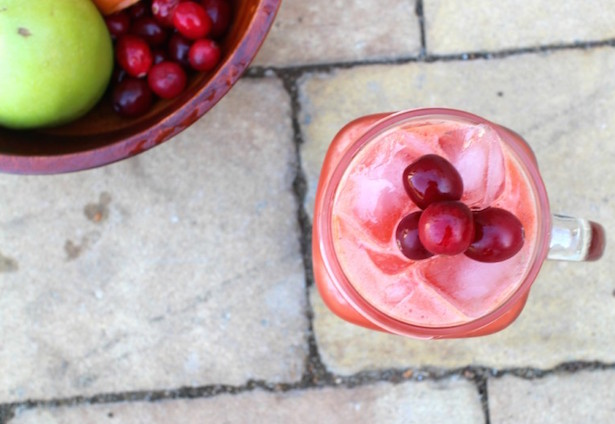 cranberry detox juice recipe
