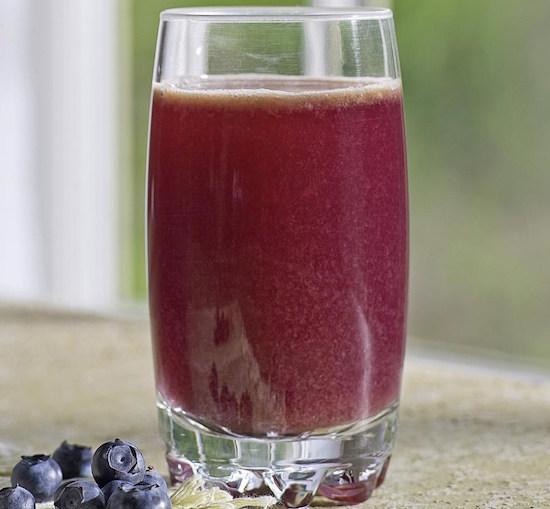 blueberry juice recipe