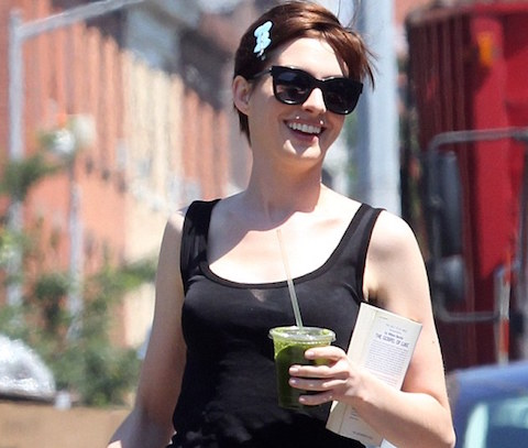 celebs who juice