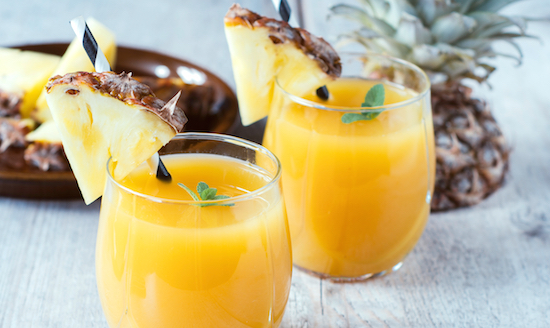 fresh pineapple juice benefits